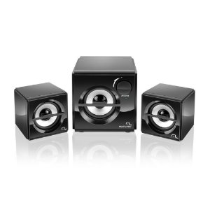 Caixa de Som Multilaser SP081 Subwoofer Box