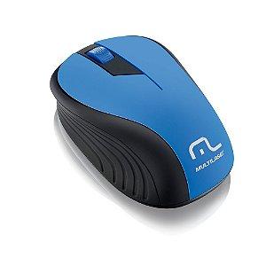 Mouse Multilaser MO215 sem Fio Azul