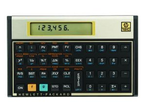 Calculadora Financeira HP-12 Gold