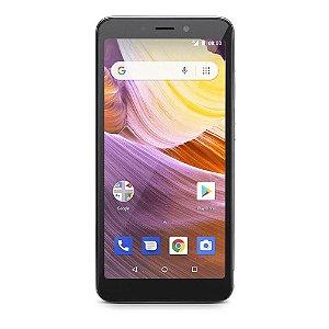 Smartphone Multilaser MS50G NB747 8gb+32gb Prata/Preto