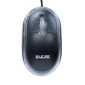 Mouse Evus USB MO-01 c/ Fio