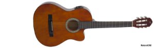 Violão Giannini Start Eletrico SF-14 Natural Aço