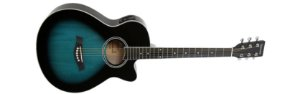Violão Giannini Performance Eletrico GSF-1R Dark Blue Burst