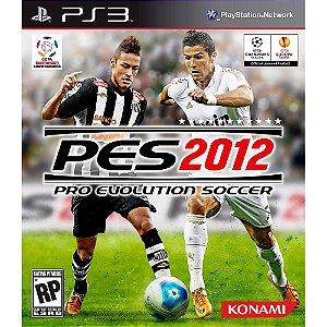 Jogo Pro Evolution Soccer 2012 PS3