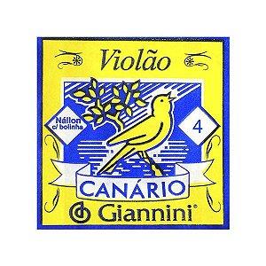 4ª Corda de Violão Canario Nylon GENWB4