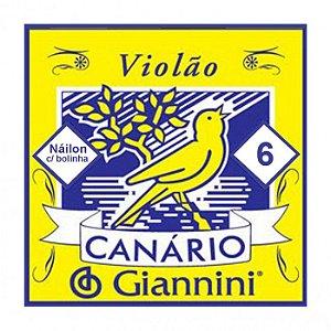 6ª Corda de Violão Canario Nylon GENWB6