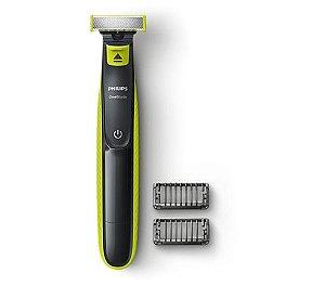 Aparador de Barba Philips QP2521 Oneblade Para Rosto