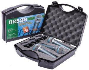 Kit Microfones Donner DR58A