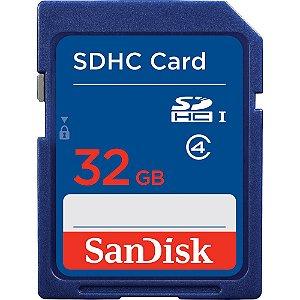 Cartão de Memoria Sandisk SD 32gb