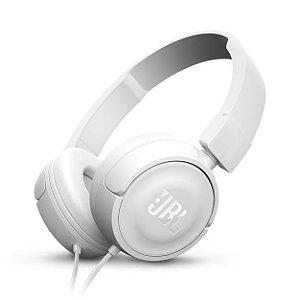 Fone de Ouvido JBL T450WHT Branco