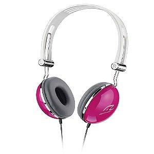 Fone de Ouvido Multilaser PH055 Pop Rosa