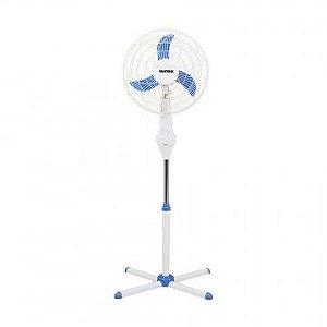 Ventilador de Coluna 40cm Ventisol Notos 3 Pas Branco/Azul 127V