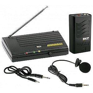 Microfone de Lapela SKP VHF-755