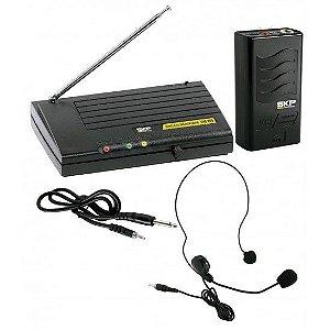 Microfone Auricular SKP VHF-855