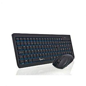 Teclado + Mouse Knup KP-2012 sem Fio