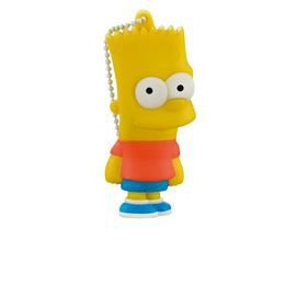 "PenDrive Multilaser PD071 8gb Simpsons ""Bart"""