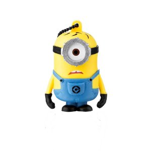 "PenDrive Multilaser PD094 8gb Minions ""Carl"""