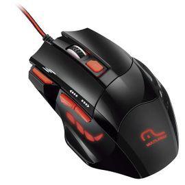 Mouse Gamer Multilaser MO236 Preto/Vermelho