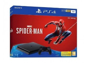 Console Playstation 4 1tb CUH-2215B Spider-Man