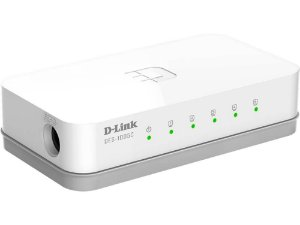 Switch D-Link DES-1005C 5 Portas 10/100