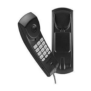 Telefone Intelbras TS20 c/ Fio Preto