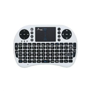 Mini Teclado com Touchpad Knup KP-2031A Branco