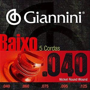 Encordoamento de Baixo Giannini GEEBRL5