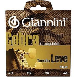 Encordoamento de Cavaquinho Giannini GESCL