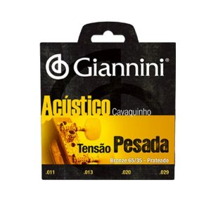 Encordoamento de Cavaquinho Giannini GESCPA