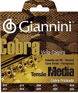 Encordoamento de Viola Giannini GESVM