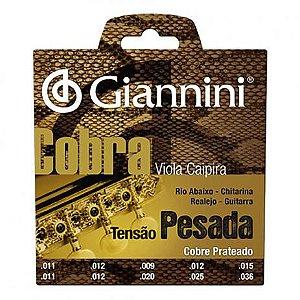 Encordoamento de Viola Giannini GESVP