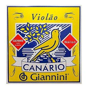 Encordoamento de Violão Canario GENWB