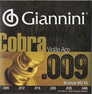 Encordoamento de Violão Canario GEEWAK .009