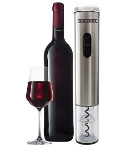 Abridor de Vinho Black & Decker Wine Inox