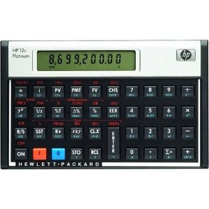 Calculadora Financeira Hp-12 Platinun