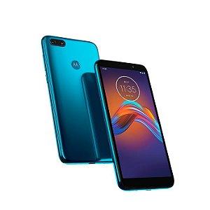 Smartphone Motorola Moto E6 Play Xt2029 32Gb Azul Metalico