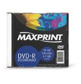 Dvd-R Maxprint 16X 503124 C/ Case (Un)