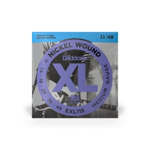 Encordoamento de Guitarra D'Addario Exl115-B