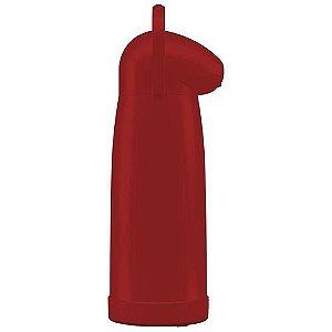 Garrafa Termica De Pressao Nobile 1,9L Vermelha