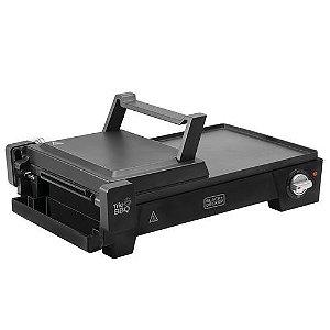 Grill Eletrico G2200-Br 3 Em 1 Black & Decker 127V