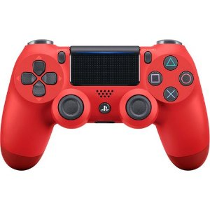 Joystick Sony PS4 CUH-ZCT2U Vermelho