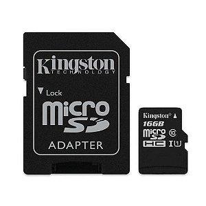 Cartão de Memoria Micro Sd 16Gb Ultra C10 Kingston