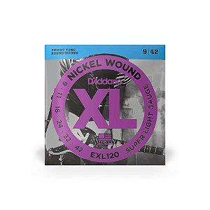 Encordoamento Guitarra D'Addario EXL120-B