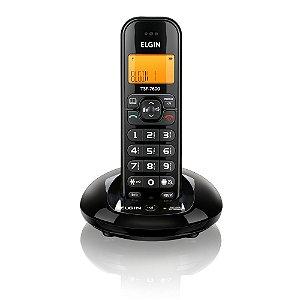 Telefone sem Fio Elgin TSF-7600 com Viva Voz Preto