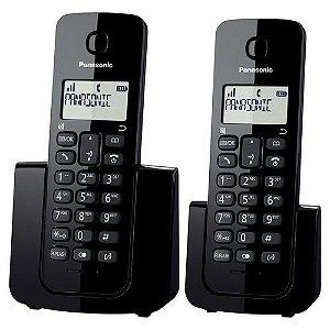 Telefone sem Fio Panasonic KX-TGB112LB + Ramal