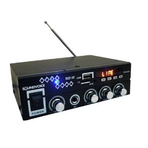 Amplificador Rc01-Bt Soundvoice