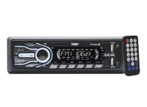 Auto Radio T500 Svart Bluetooth