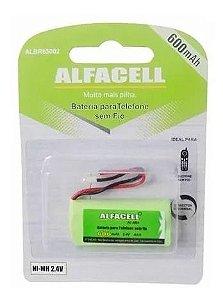 Bateria Telefone sem fio Alfacell Albr65002 600Mah