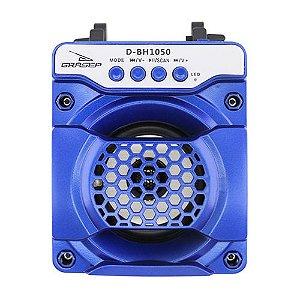 Caixa de Som Grasep D-Bh1050 Azul