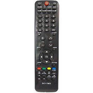 Controle Remoto para Tv Buster Sky-7963